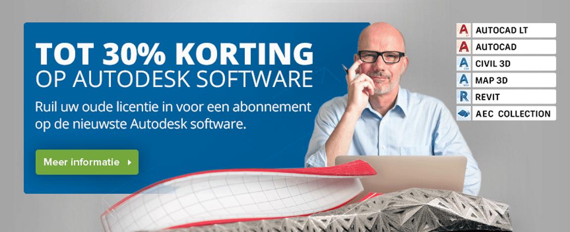 AutoCAD Upgrade aanbieding