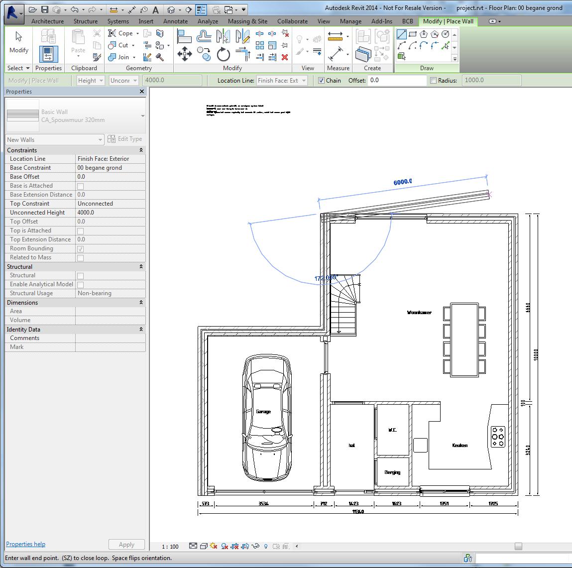 Autocad tekeningen openen en gebruiken in revit lt for 2d plattegrond maken