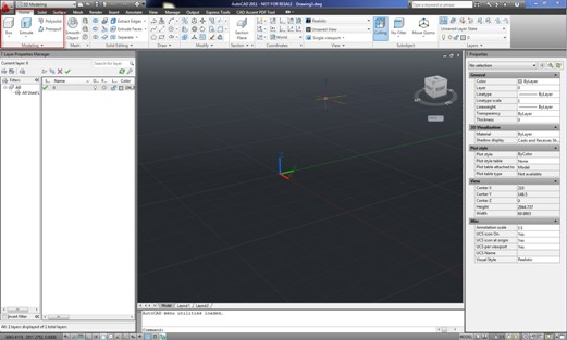 how to change 3d view in autocad 2011
