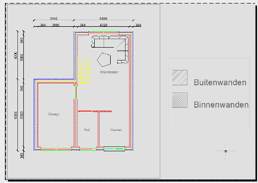 Good afbeelding with plattegrond op schaal tekenen for Plattegrond op schaal tekenen