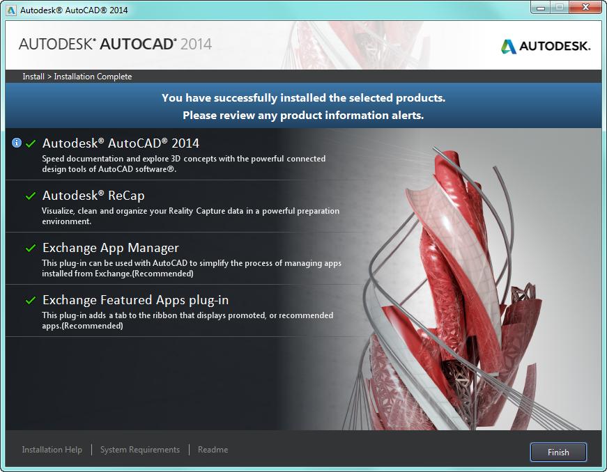 2014 (I.18.0.0) Разработчик www.autodesk.ru/AutoCAD ОС Windows XP
