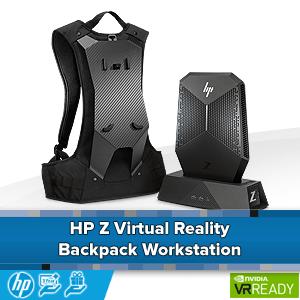 HP Z VR Backpack Workstation