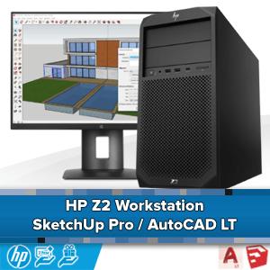 HP Z240 voor AutoCAD LT of Sketchup