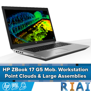 HP Zbook 17 G5 - Point Cloud