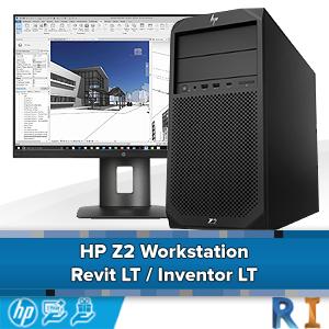 HP Z2 Workstation - Revit LT / Inventor LT