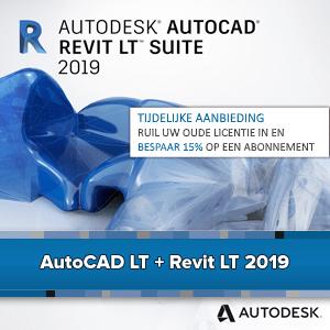 AutoCAD Revit LT Suite 2019 - Upgrade aanbieding