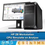 HP Z8 voor CPU Simulatie en Analyse