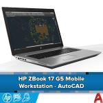 HP Zbook 17 G5 - AutoCAD