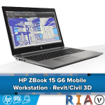 HP ZBook 15 G6 - Mobile Workstation - Revit/Civil 3D