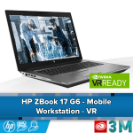 HP Zbook 17 G6 Mobile Workstation - 3DS Max en Virtual Reality