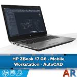 HP Zbook 17 G6 - AutoCAD