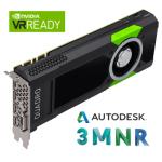 Nvidia Quadro P5000 - Autodesk VR Ready