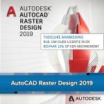 AutoCAD Raster Design 2019 - upgrade aanbieding