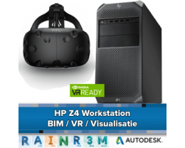 HP Z4 Workstation - BIM / VR en Visualisatie