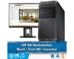 HP Z4 Workstation voor Civil 3D en Revit