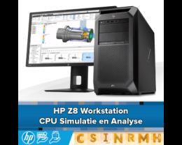 HP Z8 Workstation voor Point Cloud, Simulatie en Analyse