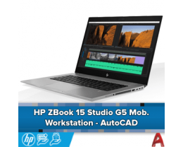 "HP ZBook 15"" Studio G5 Mobile Workstation - AutoCAD"