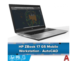 HP ZBook 17 G5 Mobile Workstation - AutoCAD