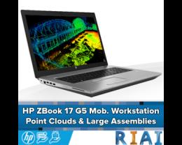 HP ZBook 17 G5 Mobile Workstation - Point Cloud en Large Assemblies