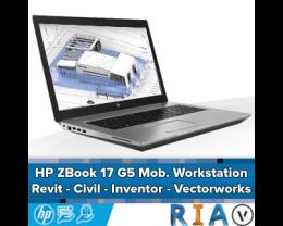 HP ZBook 17 G5 - Mobile Workstation - Revit/Civil 3D