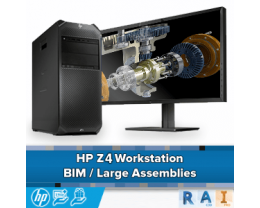 HP Z4 Workstation: Point Cloud / Large Assemblies