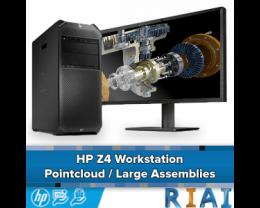 HP Z4 Workstation: Pointcloud / Large Assemblies