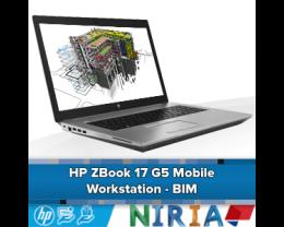 HP ZBook 17 G5 Mobile Workstation - BIM