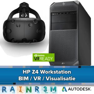 HP Z4 Workstation - BIM / VR en Visualisatie