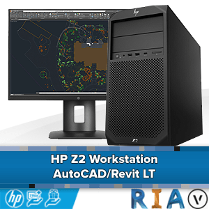 HP Z2 Workstation voor AutoCAD/Revit LT