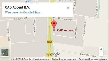CAD Accent Google Maps